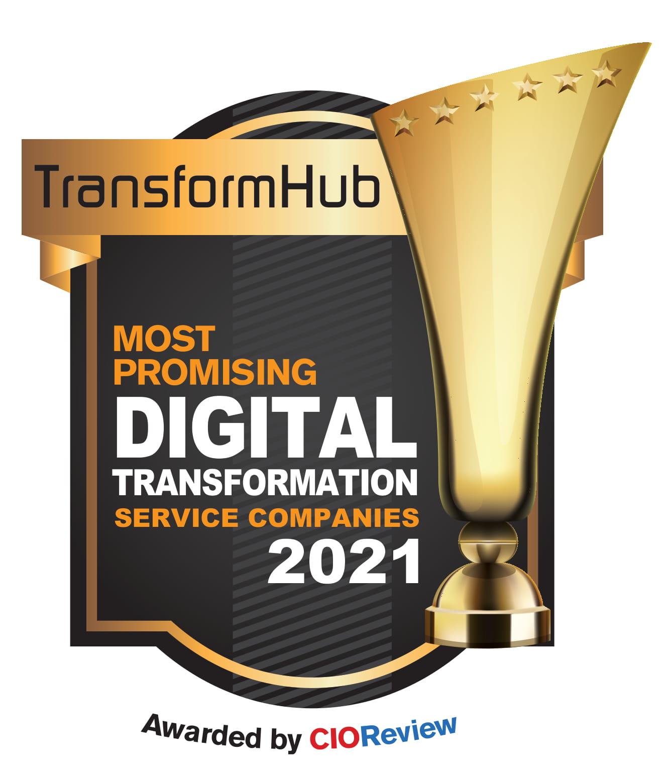 CIO Review Award 2021 TransformHub